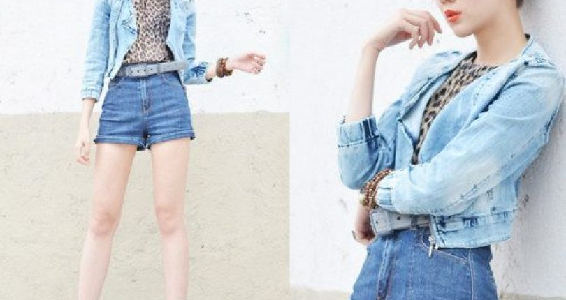 เสื้อผ้าสีฟ้าสำหรับสาววัยใส